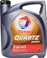 Моторное масло Total Quartz 9000 5W40 / 148650 (5л) -