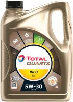 Моторное масло Total Quartz Ineo ECS 5W30 / 151510 / 213685 (4л) -