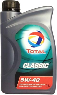 Моторное масло Total Classic 5W40 / 164796 (1л)