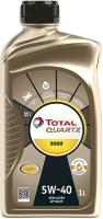 Моторное масло Total Quartz 9000 5W40 / 166243 / 213764 (1л) -