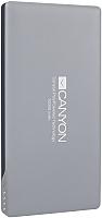 Портативное зарядное устройство Canyon CNS-TPBP10DG (темно-серый) -