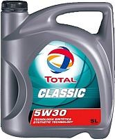 Моторное масло Total Classic 5W30 / 187559 (5л) -