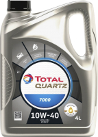 Моторное масло Total Quartz 7000 10W40 201523 / 214107 (4л) -