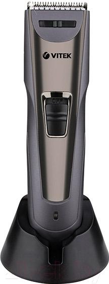 Машинка для стрижки волос Vitek, VT-2572 GR, Китай  - купить со скидкой