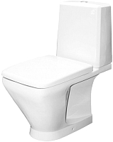 Унитаз напольный Керамин Милан Дуал Premium (с жестким сиденьем и микролифтом) -