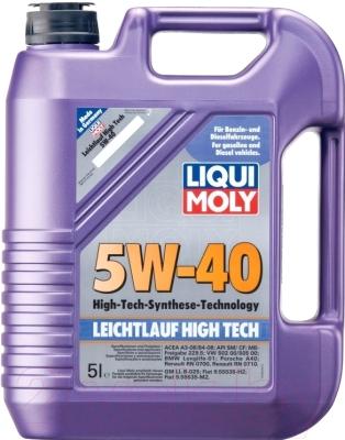 Моторное масло Liqui Moly Leichtlauf High Tech 5W40 / 2328 (5л)