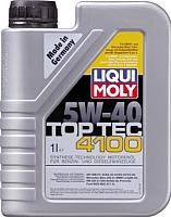 Моторное масло Liqui Moly Top Tec 4100 5W40 / 9510 (1л) -
