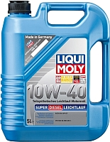 Моторное масло Liqui Moly Super Diesel Leichtlauf 10W40 / 1435 (5л) -