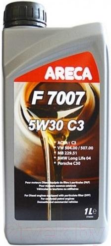 Купить Моторное масло Areca, F7007 5W30 C3 / 11171 (1л), Франция