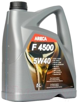 Моторное масло Areca F4500 5W40 / 11452 (5л)