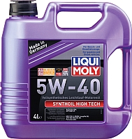 Моторное масло Liqui Moly Synthoil High Tech 5W40 / 2194 (4л) -