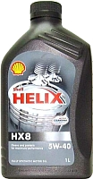 Моторное масло Shell Helix HX8 5W40 (1л) -