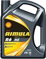 Моторное масло Shell Rimula R6 ME 5W30 (4л) -