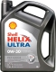 Моторное масло Shell Helix Ultra ECT C2/C3 0W30 (4л) -