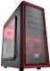 Корпус для компьютера Deepcool Tesseract SW (красный/черный) -