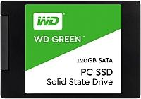 SSD диск Western Digital Green 120GB (WDS120G1G0A) -