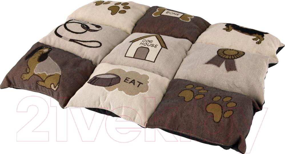 Купить Лежанка для животных Trixie, Patchwork 37062 (коричневый/бежевый), Германия