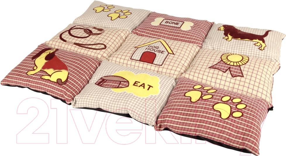 Купить Лежанка для животных Trixie, Patchwork 37063 (красный/бежевый), Германия