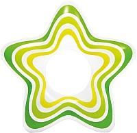 Круг для плавания Intex Звезда 59243 (салатовый) -