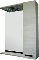 Зеркало Sanflor Торонто 60 R / Tor.02.60 (венге/орфео серый) -