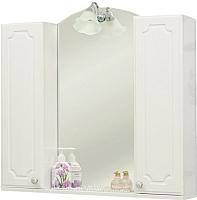 Шкаф с зеркалом для ванной Sanflor Ксения 80 / Ksn.02.80 -