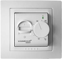 Терморегулятор для теплого пола Warmehaus Classic WH 700 (белый) -