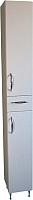 Шкаф-пенал для ванной СанитаМебель Камелия-52 Д2 (белый, правый) -