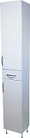 Шкаф-пенал для ванной СанитаМебель Камелия-56 Д2 (белый, правый) -