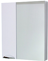 Шкаф с зеркалом для ванной СанитаМебель Эмили 102.650 (белый, левый) -