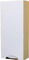 Шкаф-полупенал для ванной СанитаМебель Камелия-26 Д3 (белый, левый) -