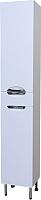 Шкаф-пенал для ванной СанитаМебель Камелия-56 Д3 (белый, правый) -