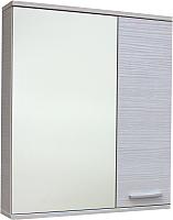 Шкаф с зеркалом для ванной СанитаМебель Прованс 101.650 (правый, гасиенда) -