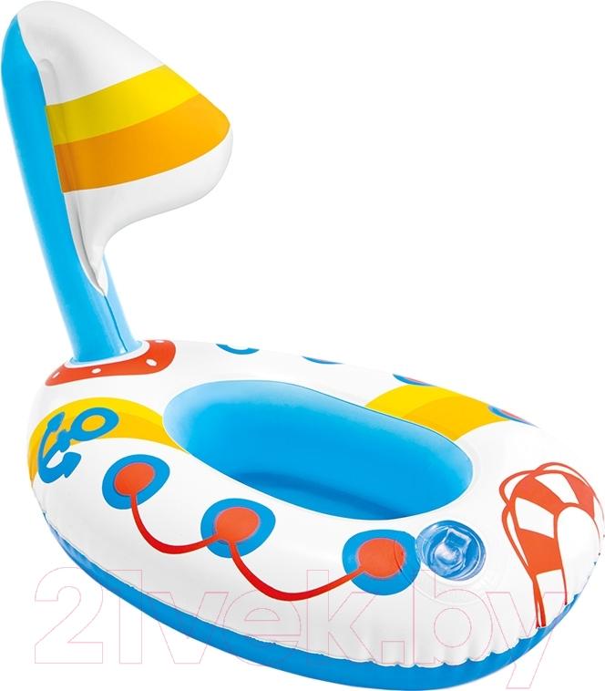 Надувная игрушка для плавания Intex, Надуй и играй 58590 (кораблик), Китай, винил  - купить со скидкой