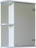 Шкаф с зеркалом для ванной СанитаМебель Камелия-09.50 (правый, белый) -