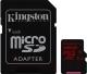Карта памяти Kingston microSDXC (Class 10) U3 128GB + адаптер (SDCA3/128GB) -