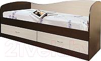 Кровать-тахта Мебель-Класс Лагуна-2 (венге/дуб шамони) -