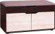 Банкетка Мебель-Класс ВА-012.9 (венге/дуб шамони) -