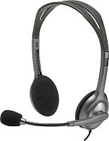Наушники-гарнитура Logitech Stereo Headset H111 (981-000593) -