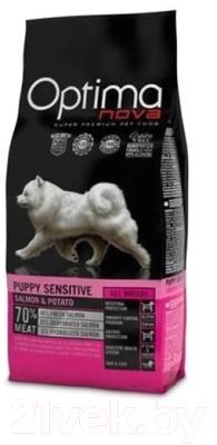 Корм для собак Optimanova Puppy Sensitive Salmon & Potato (2кг)