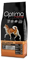 Корм для собак Optimanova Adult Sensitive Salmon & Potato (12кг) -