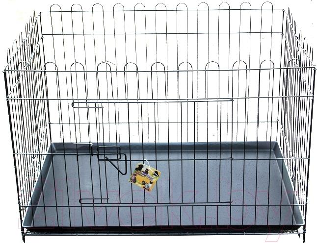 Купить Транспортировочная клетка Happy Pet, LEI4D-LA1, Китай, черный, пластик