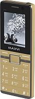 Мобильный телефон Maxvi P11 (золото) -
