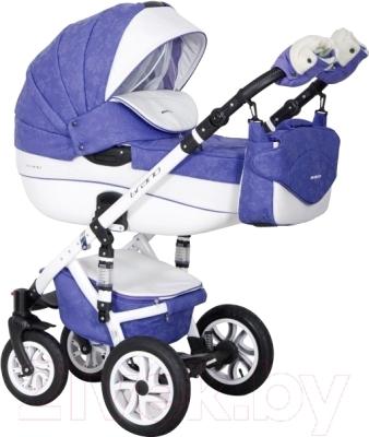 Riko Brano Ecco 3 в 1 (19 lila) Детская универсальная коляска купить ... a4baeea0da9f9