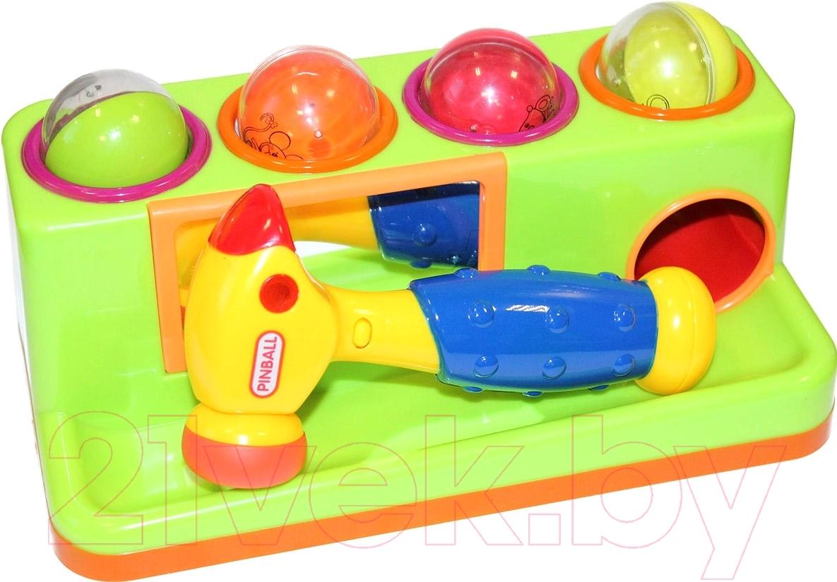 Купить Развивающая игрушка Bradex, Пим-Пам-Пум DE 0206 (светло-зеленый), Китай, пластик
