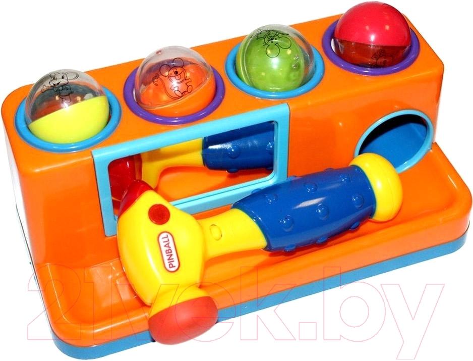 Купить Развивающая игрушка Bradex, Пим-Пам-Пум DE 0207 (оранжевый), Китай