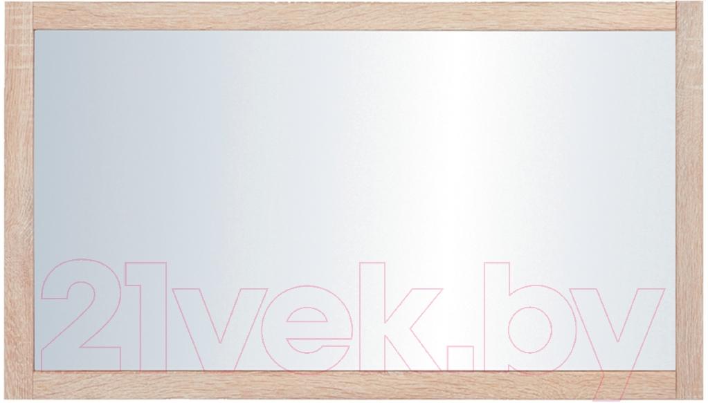 Купить Зеркало интерьерное Black Red White, Каспиан LUS/100, Беларусь, дерево светлое
