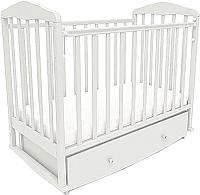 Детская кроватка СКВ 123001 (белый) -