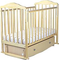 Детская кроватка СКВ 123005 (береза) -