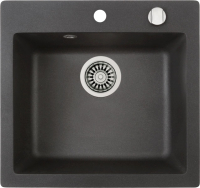 Мойка кухонная Teka Clivo 50 S-TQ / 40148010 (оникс) -
