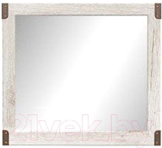 Купить Зеркало интерьерное Black Red White, Индиана JLUS 80 (сосна коньон), Беларусь, дерево беленое